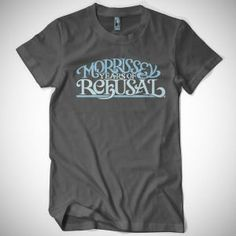 Morrissey - Years of Refusal tees