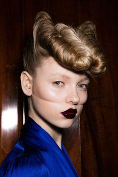 Risultati immagini per gareth pugh 2016 2017 hairstyle