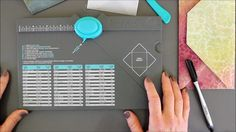 Tips for the Envelope Punch Board by We R Memory Keepers...with the fixed measurements for the 3x3 card