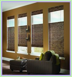 bay window bamboo blinds-#bay #window #bamboo #blinds Please Click Link To Find More Reference,,, ENJOY!! Bay Window Bedroom, Bedroom Couch, Bedroom Windows, Bathroom Light Bar, Bathroom Lighting, Bed Drapes, Big Sofas, Bamboo Blinds, Cool House Designs