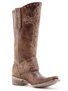 Ladies Old Gringo Brass Krusts L1295-3 Boots - Texas Boot Company is located in Bastrop, Texas. www.texasbootcompany.com