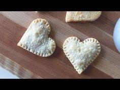 DIY - Strawberry Heart-Shaped Pie Crust (Valentine's Day Treat Ideas) - via Cathy Diep on YouTube
