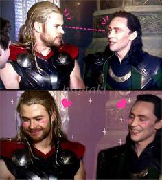 Thor and Loki  in lovin  ;D