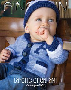 Modèles à tricoter pour bébé et enfants automne hiver 2013