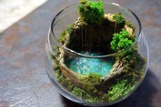 Hidden Cave Pool (Cenote) Terrarium / Diorama