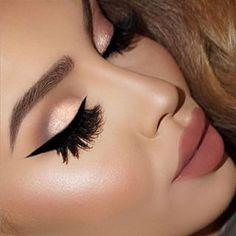 Subtle eye make up Makeup On Fleek, Kiss Makeup, Flawless Makeup, Cute Makeup, Gorgeous Makeup, Pretty Makeup, Hair Makeup, Amazing Makeup, Sexy Makeup