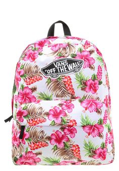 Vans REALM Plecak w różowe kwiaty hawaiian natural
