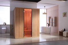 AL0012 Dual-layer Red cedar sauna with fragrance