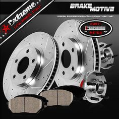 For Chrysler Aspen Dodge Dakota Mitsubishi Raider Front Brake Pad Set Brembo