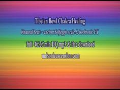 Solfeggio Tibetan Bowl Chakra Healing & Theta Binaural Beats - YouTube