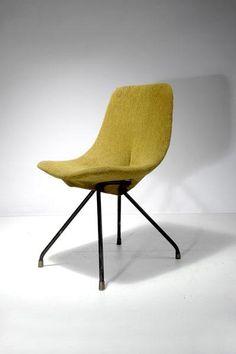 Gastone Rinaldi; 'DU 30' Chair for Rima, 1953.