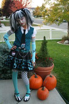 halloween kostüm mädchen halloween deko kürbisse