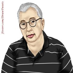 Handsome Guy Wearing Glasses - An art piece inspired by the 2nd order from Hodgy03038 in I will hand draw cartoon avatar from your photo gig on Fiverr.com/DrawTweets. #HandsomeGuy #Glasses #drawing #draw #sketch #artist #arte #artoftheday #art Wearing Glasses, Cartoon Drawings, Art Day, Your Photos, Avatar, How To Draw Hands, Art Pieces, Sketch, Handsome