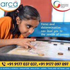 Global Indian International School Holistic Education, Brochure Cover Design, Science Week, Leadership Qualities, Republic Day, School Building, Graduation Day, International School, Positive Attitude