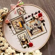 Diy Embroidery Hoop Wall Art, Abstract Embroidery, Hand Embroidery Videos, Embroidery Flowers Pattern, Creative Embroidery, Learn Embroidery, Hand Embroidery Designs, Bridal Gift Wrapping Ideas, Diy Crafts Love