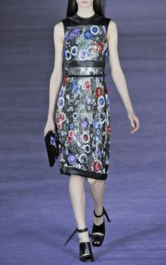 Christopher Kane F/W '12 Floral Embellished Chain Mail Shift, $14415