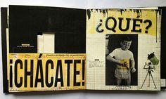 Libro Objeto | Ringo Bonavena on Behance Paper Design, Book Design, Menu Design, Libros Pop-up, The Truman Show, Collages, Glitch Art, Communication Design, Illustrations And Posters