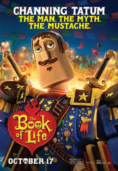 The film The Book of Life opens in US theaters October 17, 2014.