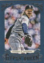 2014 Gypsy Queen Blue Framed #170 Randy Johnson Seattle Mariners 247/499