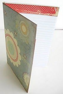 Something like THIS for the mini notepads