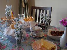 Realizando um Sonho | Blog de casamento, casa e maternidade: Chá da tarde | Recebendo Visitas