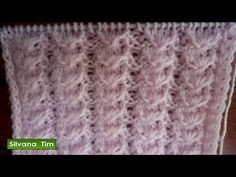 Punto Ropa Bebé #12 - How to Knit a Baby Stitch 2 Agujas (367) - YouTube