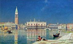 Venice by William Logsdail (British 1859–1944)