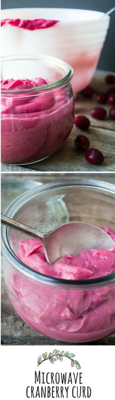 This easy fresh cranberry curd is a low sugar recipe that bursts with flavor --- a bag of cranberries will make two batches, keep one and gift one!