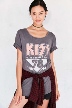 promo code b1477 cca69 Shop Junk Food Shirttail Band Tee at Urban Outfitters today.