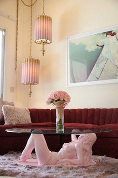 Dream Home Design, Home Interior Design, House Design, Estilo Hollywood Regency, Hollywood Regency Decor, Old Hollywood, Living Room Decor, Bedroom Decor, Casa Clean