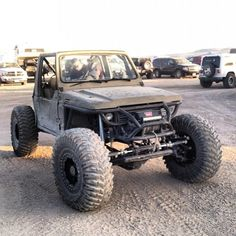 """This thing is ready to rip it up at #kingofthehammers photo cred goes to @mogdog_404  #sami_nation #suzukisamurai #suzukisamurai4x4 #suzukisamuraioffroad"""