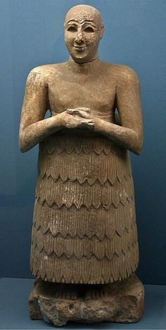 Statue of Lugaldalu governor of Adab ca. 2500 BCE