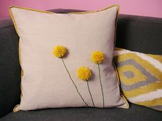 DIY: billy ball pillow