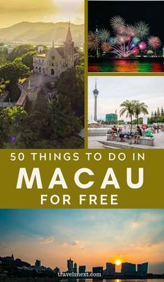 50 FREE things to do in Macau. The church itself is rather modest but the 270-degree hilltop view is impressive. #macau #wowmacau #macao #thingstodo #freetravel #Travel #china #asia #free