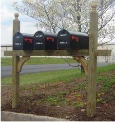 double mailbox designs. Customized And Personalized Mailboxes : Mailbox Installation Residential C R Roanoke, VA Double Designs