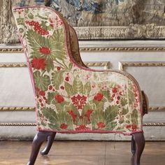 "456 Likes, 11 Comments - I S L A S I M P S O N (@isla_simpson) on Instagram: ""❤️ velvet covered fruitwood chair from the Queens bedchamber @hamhousent ❤️"""