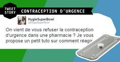Que faire dans le cas où un pharmacien vous refuse un contraceptif d'urgence ?