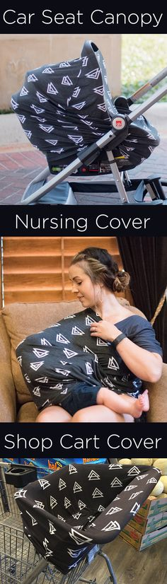 Multi-Use Car Seat Canopy, Nursing/ Breastfeeding Cover, and Shopping Cart Cover https://www.amazon.com/Stretchy-Shopping-Infinity-Triangle-Breastfeeding/dp/B01F5Z0P0O?m=A3PYMCL43VTCQ2 Now available on Amazon with FREE Prime Shipping!