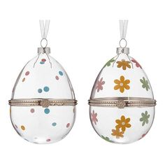 Buy John Lewis & Partners Hinged Hanging Glass Egg from our Party Decorations range at John Lewis & Partners. Easter Tree, Easter Eggs, Egg Decorating, John Lewis, Sweet Treats, Hand Painted, Christmas Ornaments, Holiday Decor, Glass