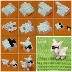 My nanoblock bulldog build instructions