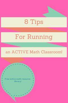 8 tips for running an active learning classroom   Algebra   Secondary Math   Algebra Activities   Algebra 1   Middle School Math   Math Game   Math Games   Math Teaching Ideas   https://www.themathmentors.com/eight-tips-for-running-an-active-math-environment/