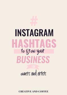 Home Business Franchise Best Instagram Hashtags, Instagram Marketing Tips, Instagram Tips, Hashtag For Instagram, Coffee Instagram, Business Hashtags, Small Business Accounting, Business Tips, Business Education