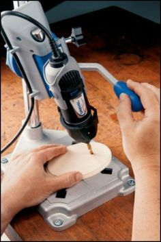 Are you a Dremel fan? I think once you've used one, it's hard not to be!  http://theownerbuildernetwork.co/tools/dremel-rotary-tool-work-station/  This Dremel work station transforms your Dremel rotary tool into a tabletop drill press. It can be bolted on to your workbench, and it can also act as tool holder and flex shaft holder.  It's ideal for crafts, hobbies, metal working, and a whole heap of 'around-the-house' jobs.   Would you like to add this to your workshop arsenal?