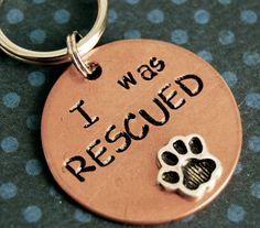 Super cute dog tag