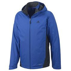 Adidas Hiking 3in1 Insulated Wandertag Jacket - Men's Blue Beauty Medium adidas Sport Performance ++ You can get best price to buy this with big discount just for you.++