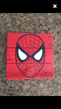 Vintage Super Hero Wood Signs by TheCreativePallet on Etsy
