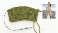 How to knit A.2 A and A.2 B for the jacket in DROPS 178-3