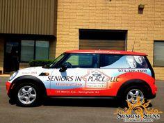 Senior Home Health Car Car Wraps