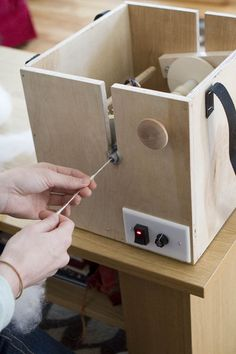 Hobby Robotics » Build Your Own Electric Spinning Wheel