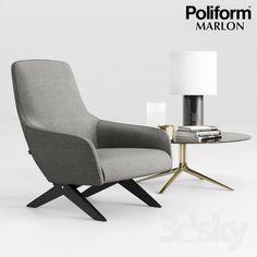 Poliform Marlon Armchair Set